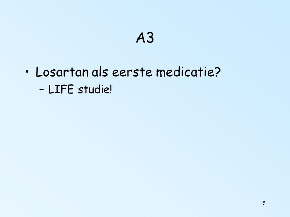 5 A3 Losartan als eerste medicatie? –LIFE studie!