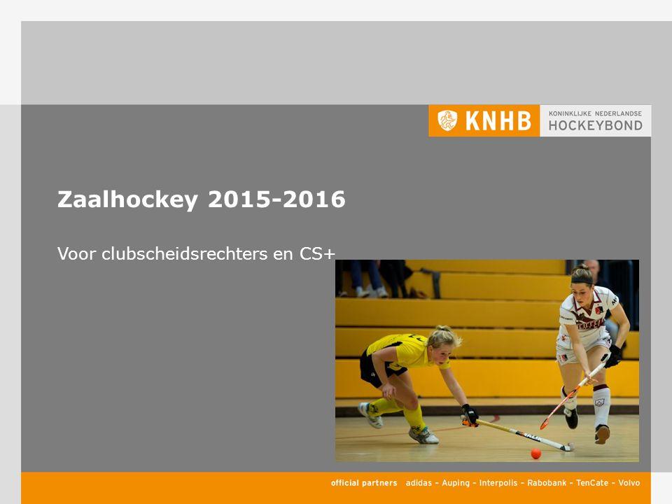 Verschillen zaal- en veldhockey Slaan  pushen 5 meter  3 meter Liggend spelen Bal van de grond In het blok spelen