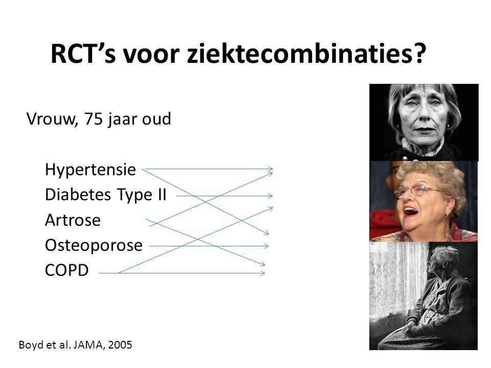 RCT's voor ziektecombinaties.