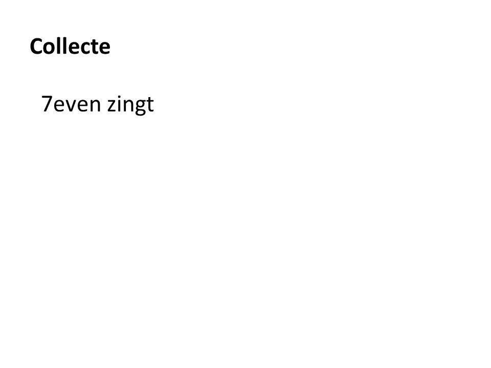 Collecte 7even zingt