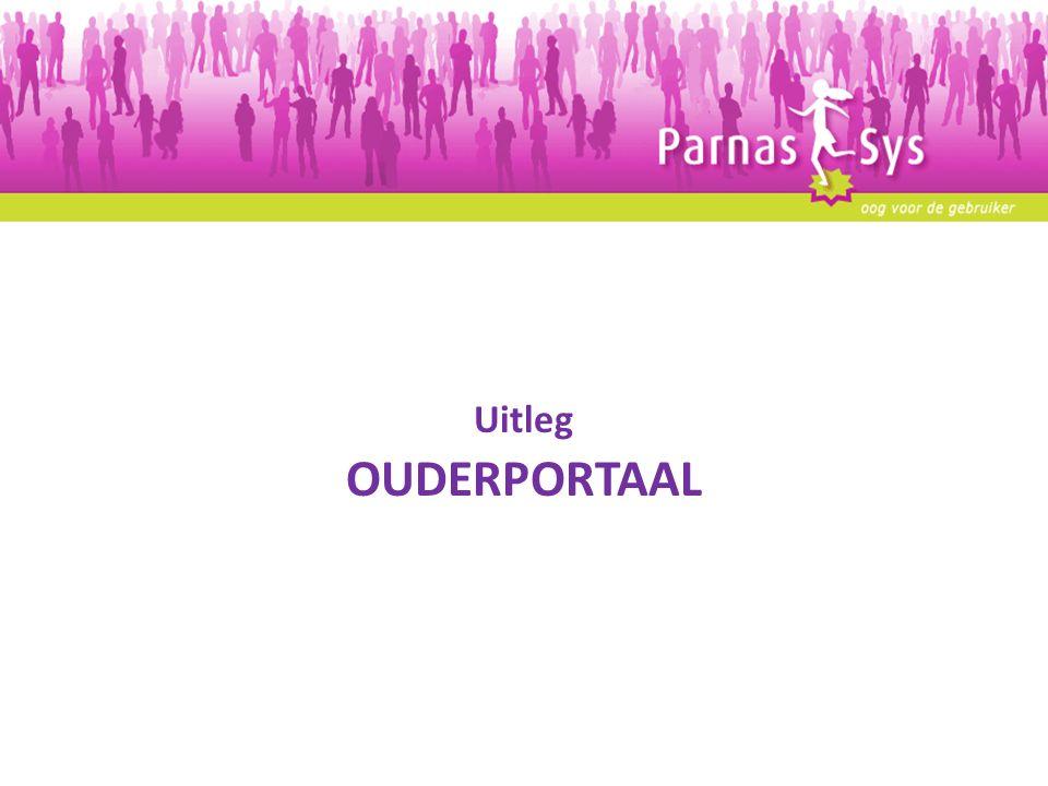 Uitleg OUDERPORTAAL