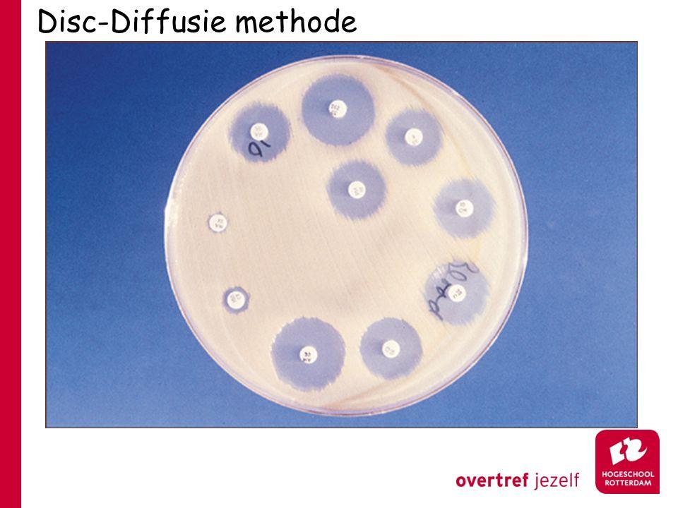 Disc-Diffusie methode