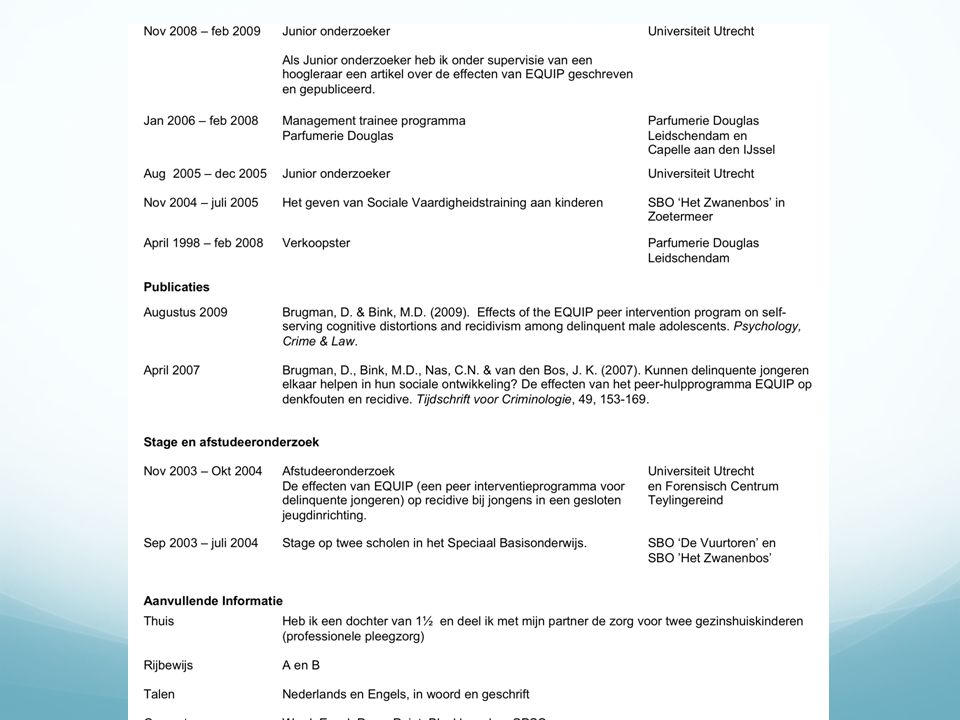 Opdracht Anita wordt opgenomen LINKLINK Welke informatie over het beroepsbeeld van een SPH- er, haal je uit dit fragment.