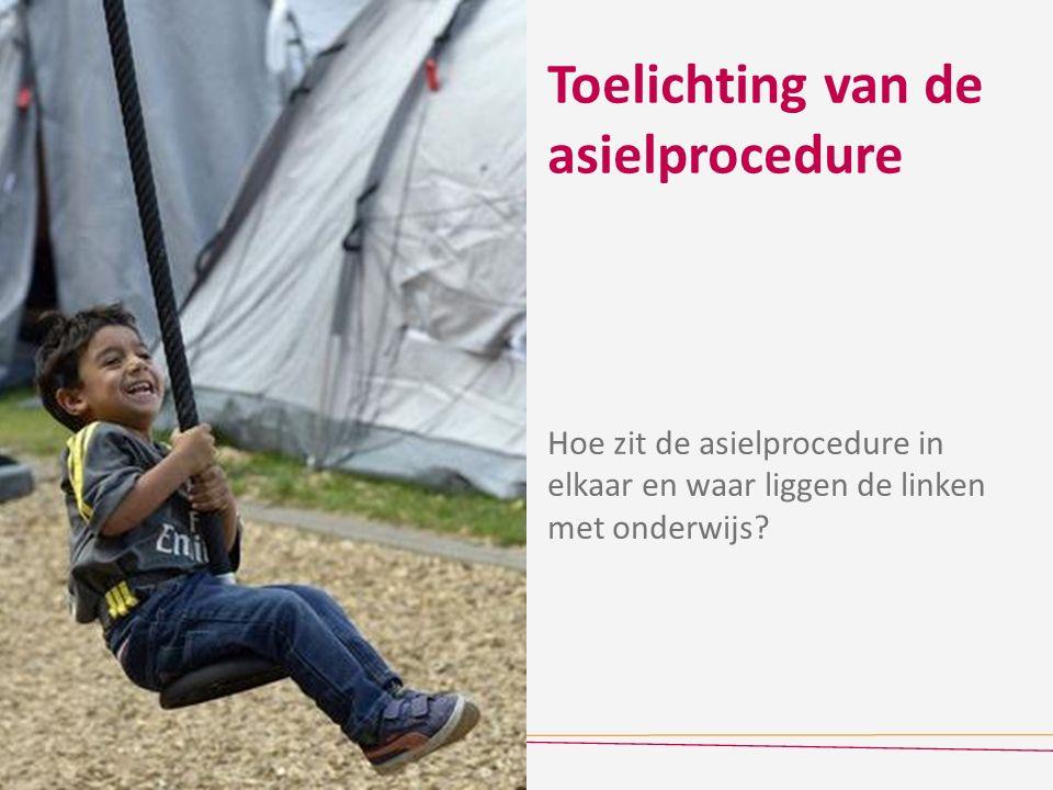 Toelichting van de asielprocedure Hoe zit de asielprocedure in elkaar en waar liggen de linken met onderwijs?