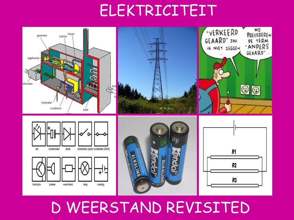 Aat ELEKTRICITEIT D WEERSTAND REVISITED