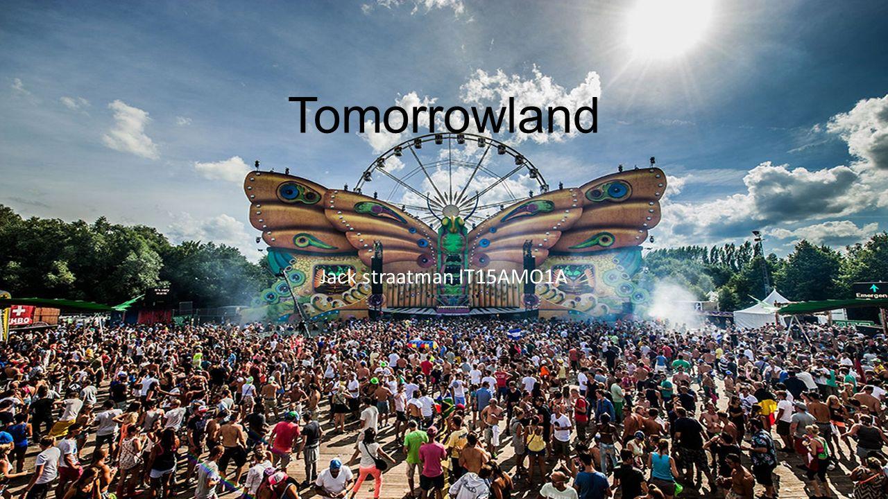 Tomorrowland Jack straatman IT15AMO1A