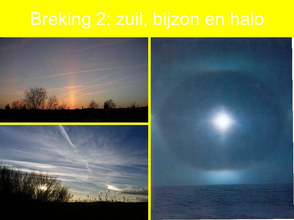 Breking 2: zuil, bijzon en halo