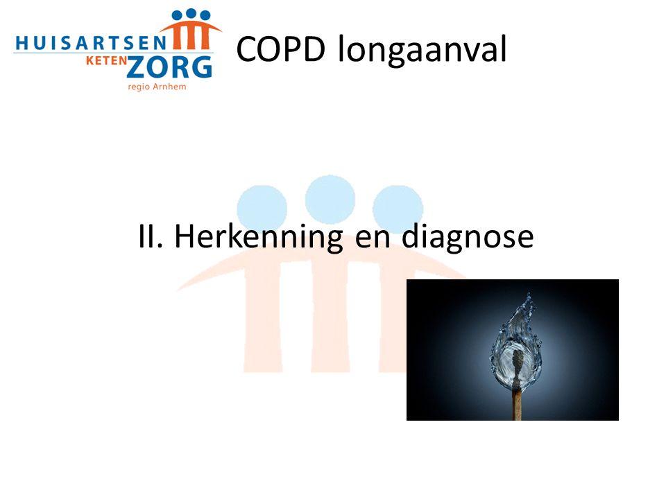 II. Herkenning en diagnose COPD longaanval