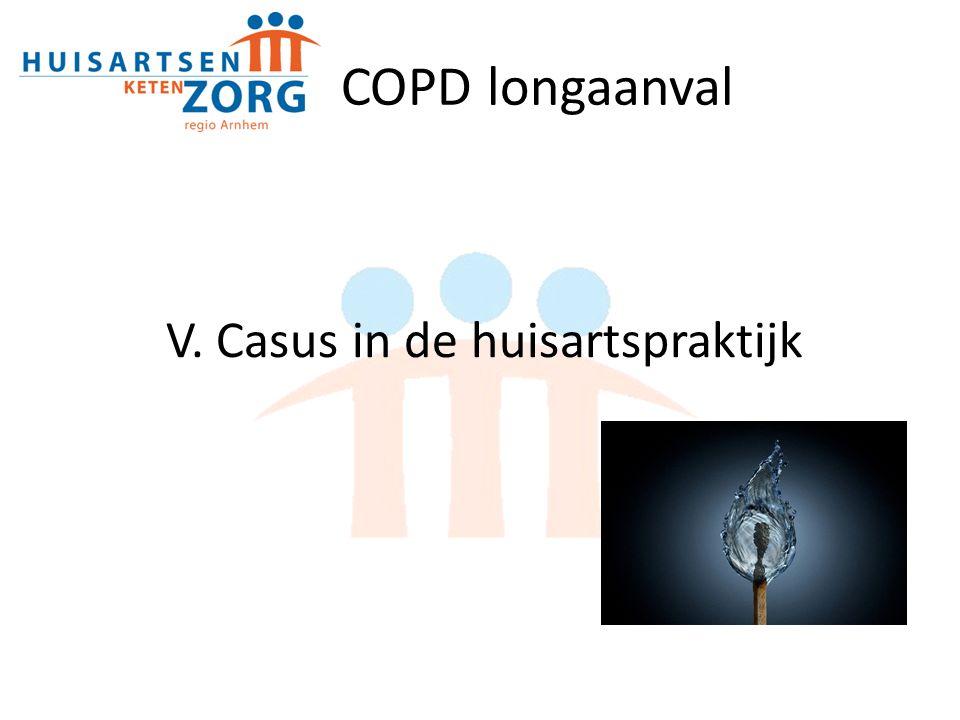 V. Casus in de huisartspraktijk COPD longaanval