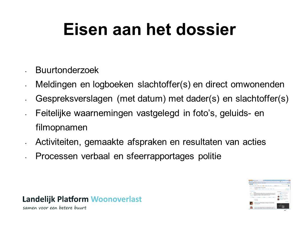 6 Beschikbare convenanten - Voorbeeldconvenanten www.platformwoonoverlast.nl/aanpak - Convenanten van andere gemeenten ww.platformwoonoverlast.nl /praktijk Meer convenanten.