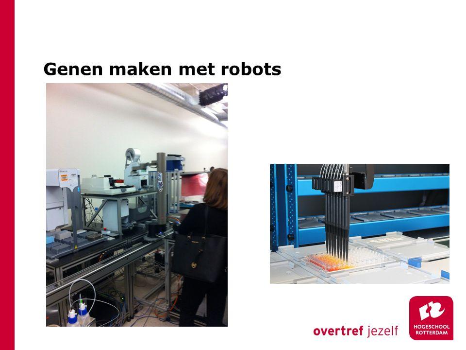 Genen maken met robots