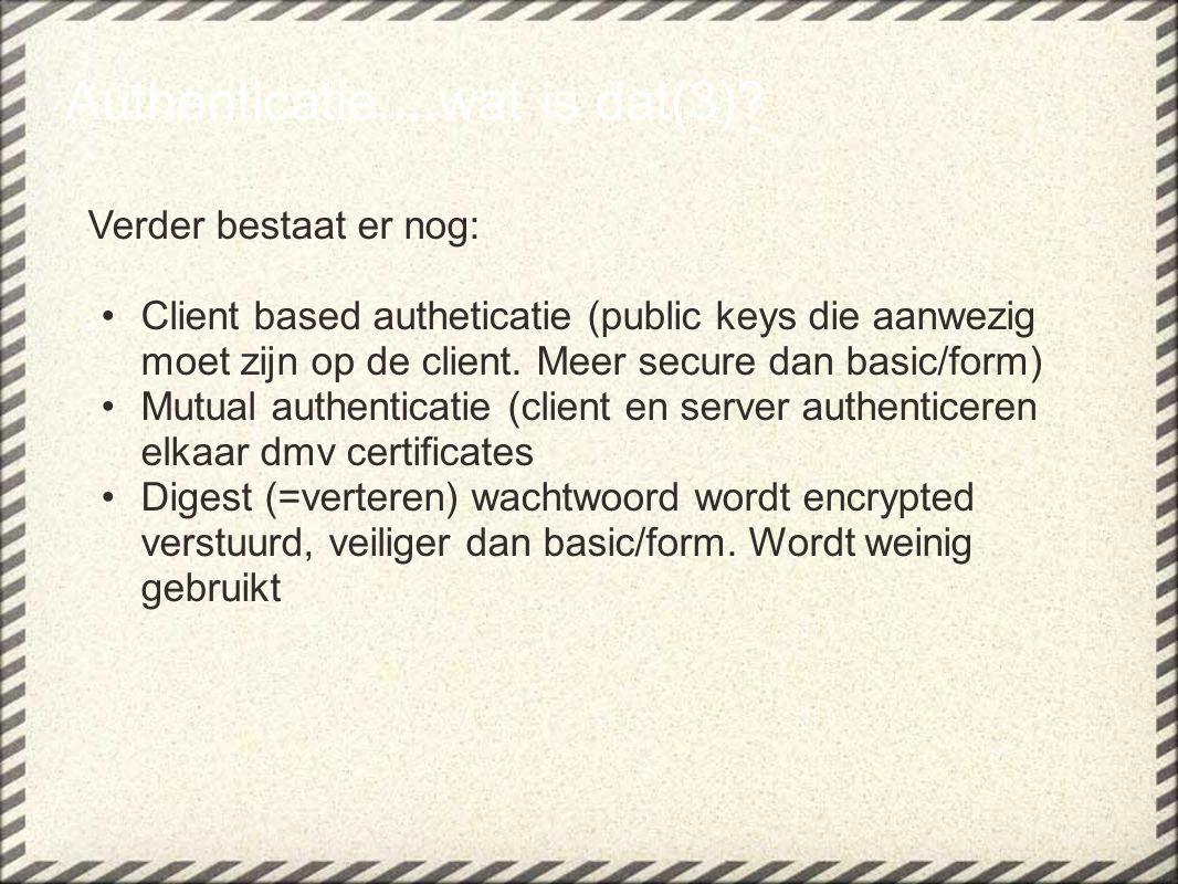 Data integriteit + vertrouwelijkheid....wat is dat(3)?
