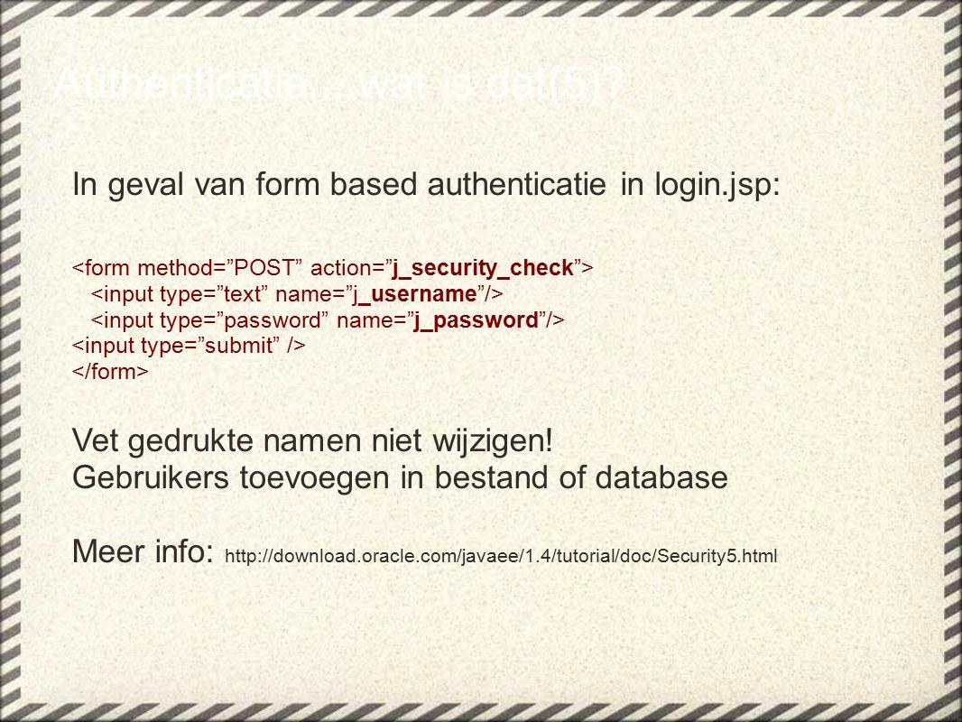 Data integriteit + vertrouwelijkheid....wat is dat(5)?