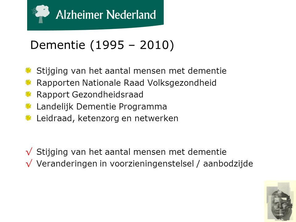 Groei van Alzheimer Cafés