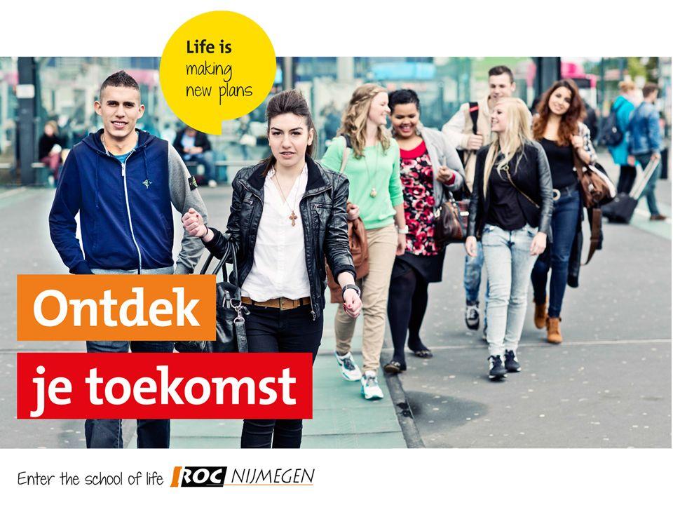 Aanpak ROC Nijmegen Start herzien kwalificatie dossier met cohort 2016 7 Standaarden voor het Onderwijs Inzet 12 Onderwijsregisseurs