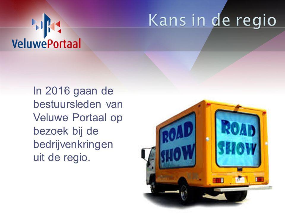 In 2016 gaan de bestuursleden van Veluwe Portaal op bezoek bij de bedrijvenkringen uit de regio.