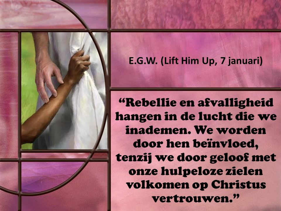 Rebellie en afvalligheid hangen in de lucht die we inademen.