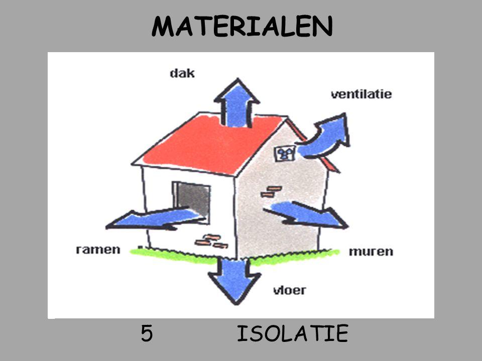5ISOLATIE MATERIALEN