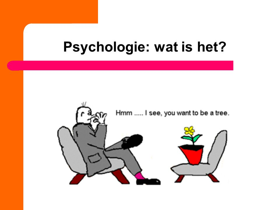 Psychologie: wat is het?