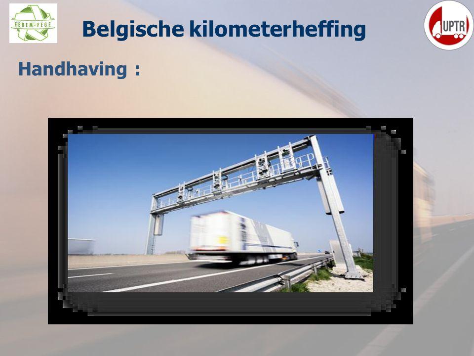 40 Handhaving : Belgische kilometerheffing