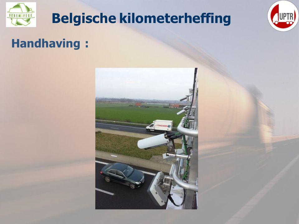 41 Handhaving : Belgische kilometerheffing