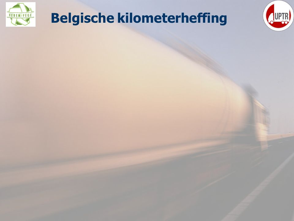 43 Belgische kilometerheffing