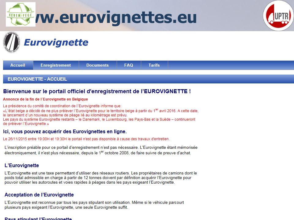 62 www.eurovignettes.eu