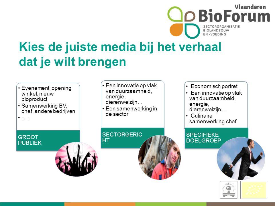 Evenement, opening winkel, nieuw bioproduct Samenwerking BV, chef, andere bedrijven...