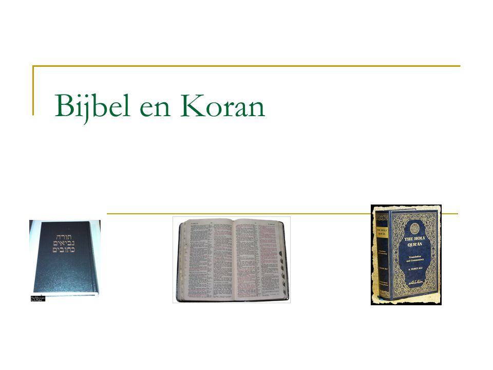 Bijbel en Koran