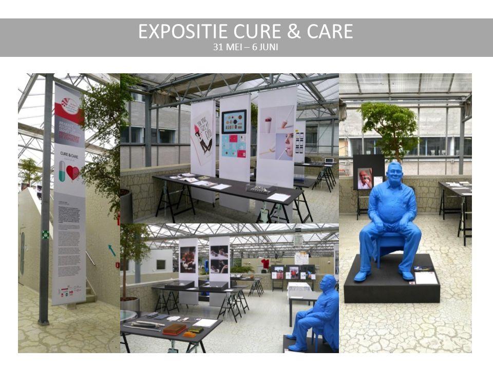 EXPOSITIE CURE & CARE 31 MEI – 6 JUNI