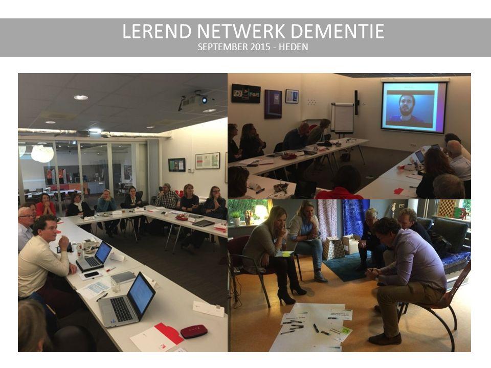 LEREND NETWERK DEMENTIE SEPTEMBER 2015 - HEDEN