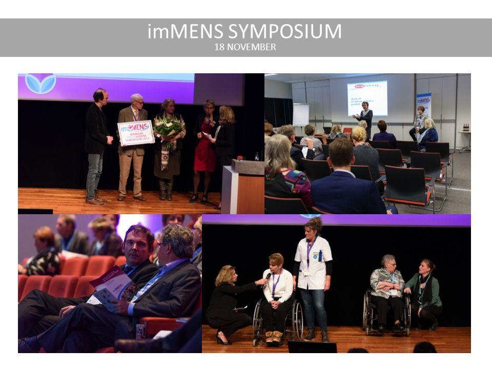 imMENS SYMPOSIUM 18 NOVEMBER