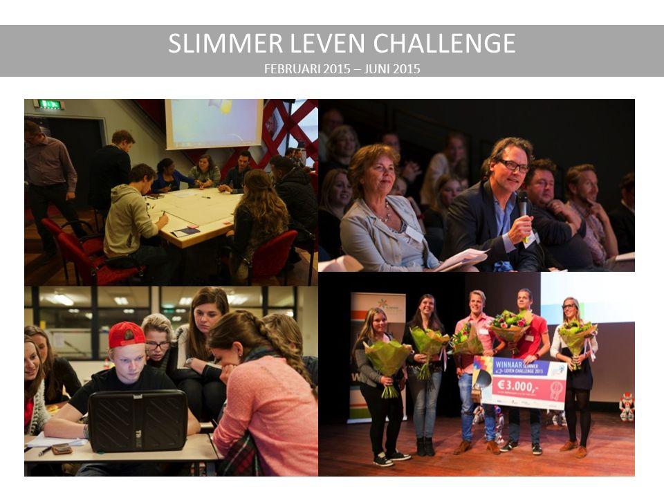 SLIMMER LEVEN CHALLENGE FEBRUARI 2015 – JUNI 2015