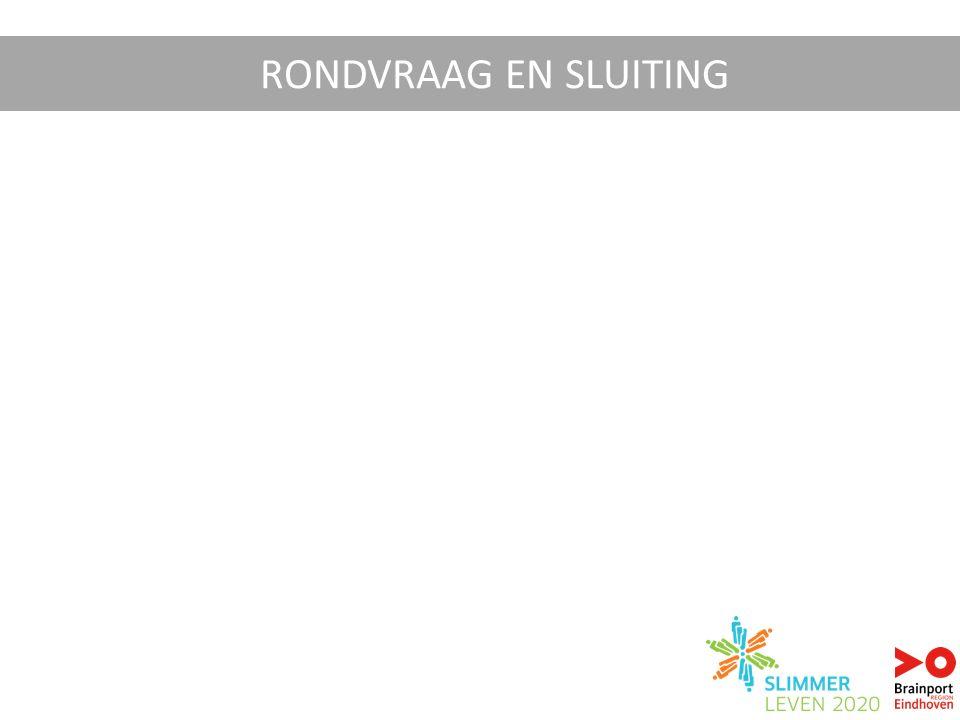 RONDVRAAG EN SLUITING