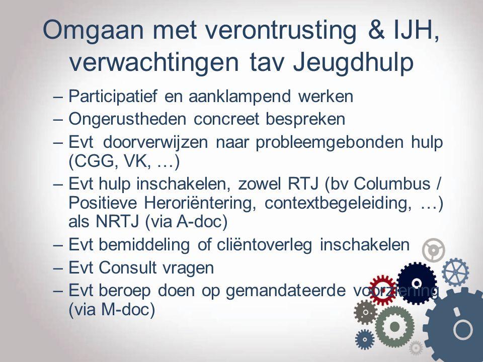 WWW.JONGERENWELZIJN.BE P Traject OCJ Maatschappelijk Noodzakelijke hulp.