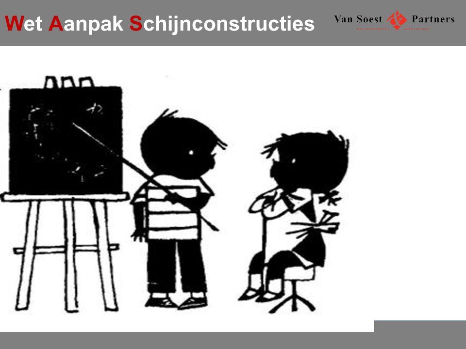 Wet Aanpak Schijnconstructies