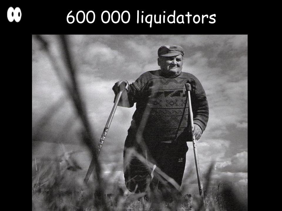 600 000 liquidators