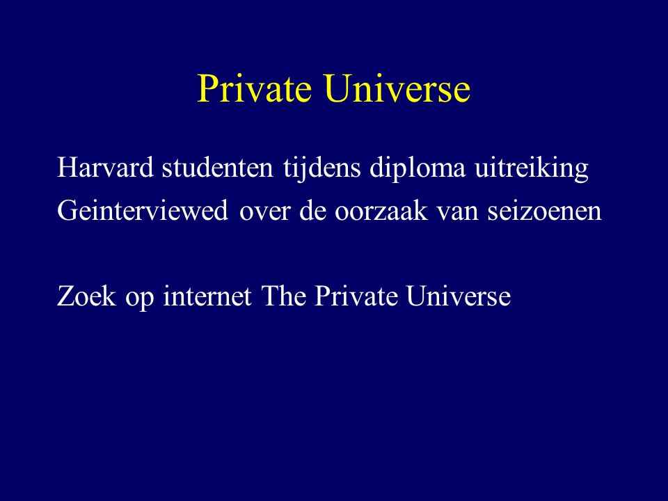 Snelle feedback zonder stappen Onderzoek Katrina Emmett in Utrecht, zie artikel in Physics Education