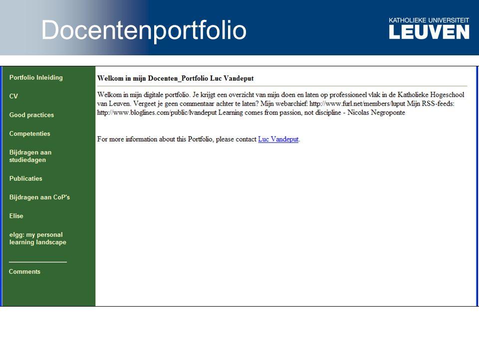 Toledoteam Docentenportfolio