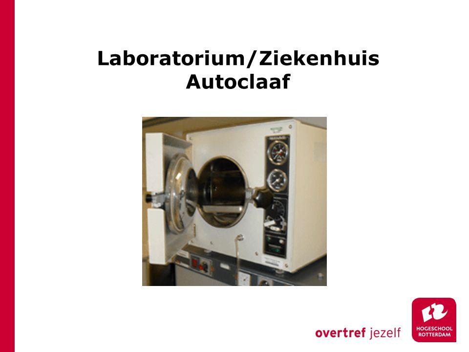 Laboratorium/Ziekenhuis Autoclaaf