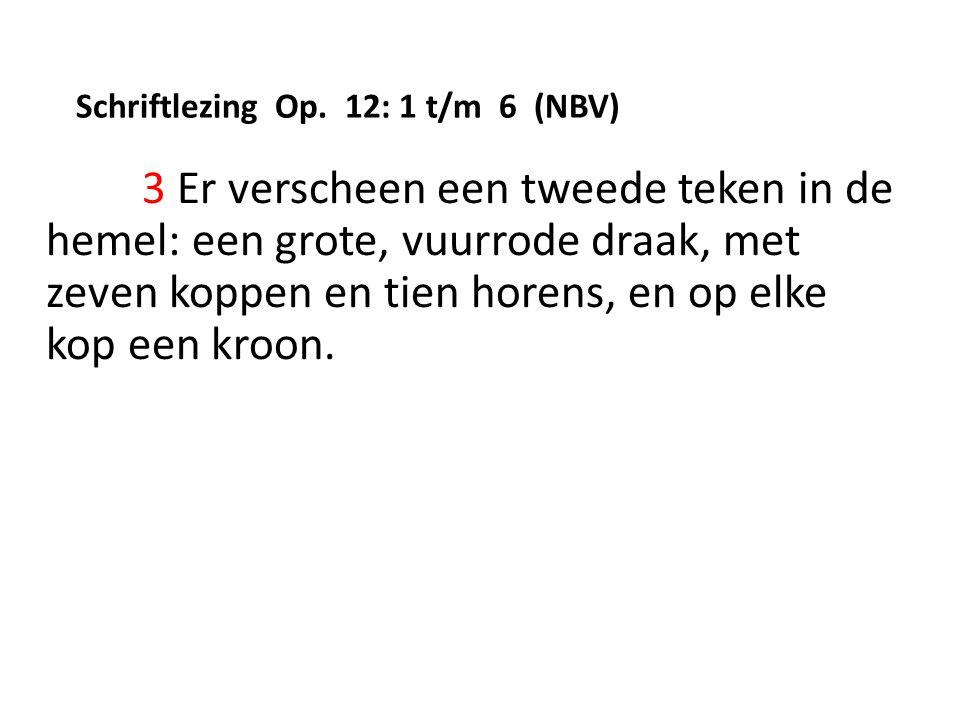 Schriftlezing Op.