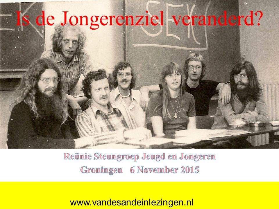 SJJ Is de Jongerenziel veranderd? www.vandesandeinlezingen.nl