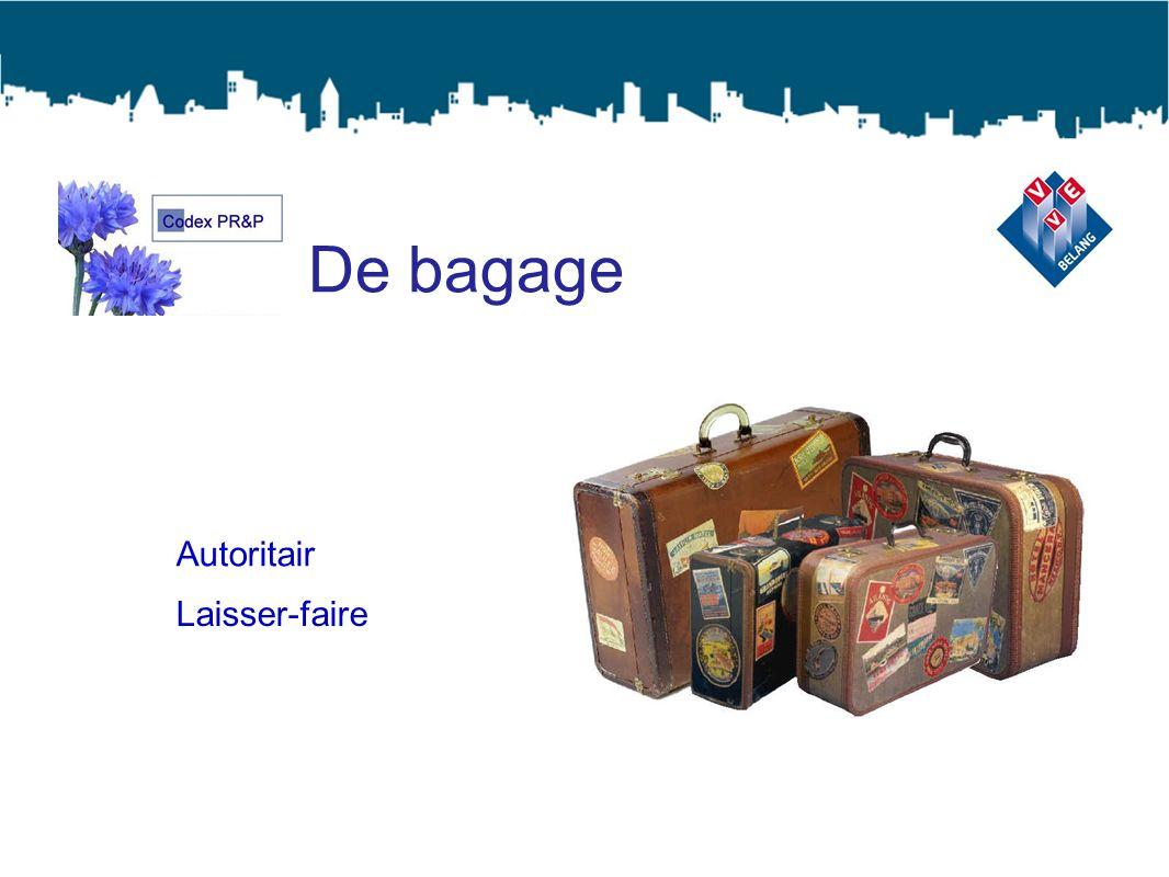 De bagage Autoritair Laisser-faire