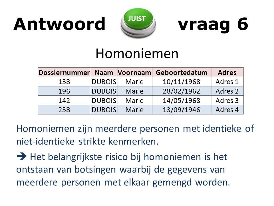 Homoniemen Homoniemen zijn meerdere personen met identieke of niet-identieke strikte kenmerken.
