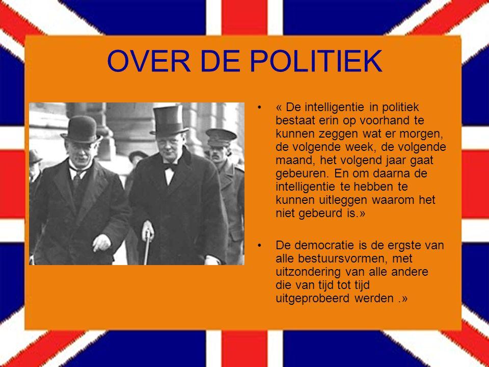 OVER MUSSOLINI Op het einde van zijn leven werd Churchill uitgenodigd voor een eetmaal, gegeven door zijn schoonzoon, Christophe Soames. De tafelgenot