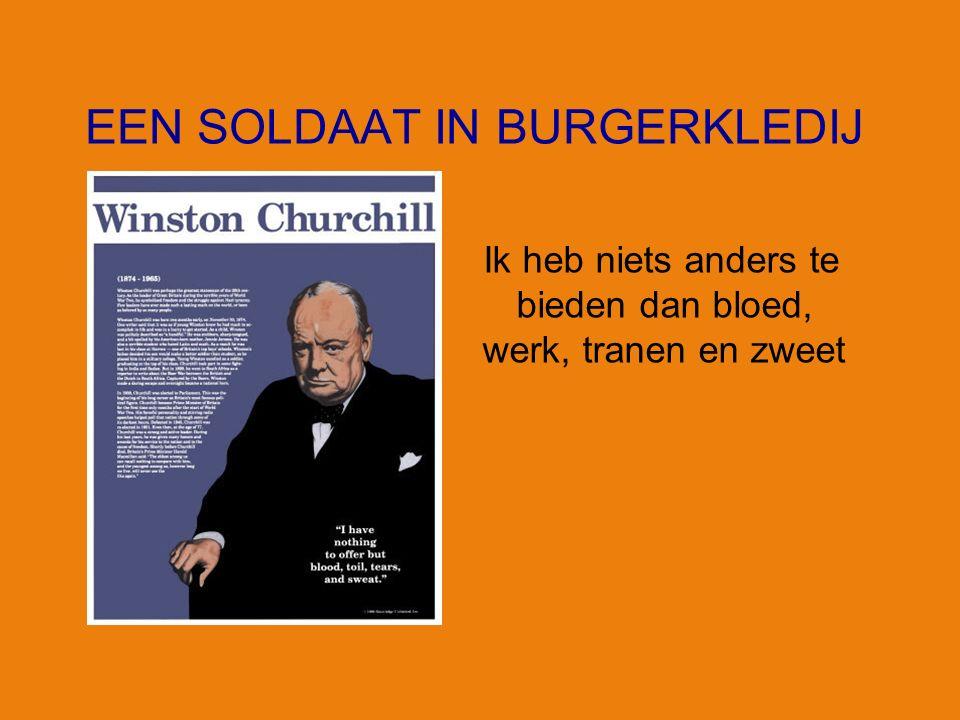 Winston CHURCHILL 1874-1965 Gedachten en anekdoten De geschiedenis zal toegeeflijk zijn voor mij, want ik ben van plan ze te schrijven