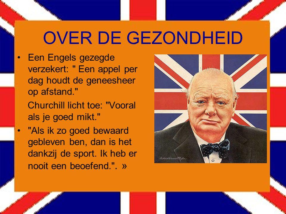 Over Clement ATLEE Over een van zijn politieke tegenstanders zei Churchill: