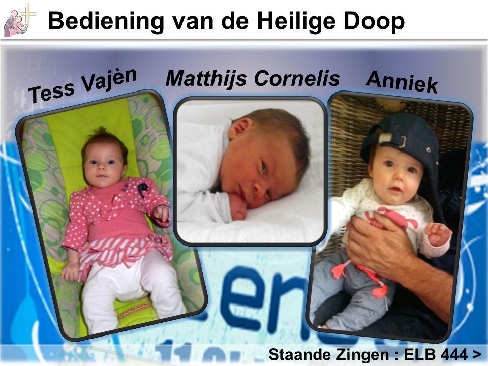 Tess Vajèn Matthijs Cornelis Anniek Staande Zingen : ELB 444 >