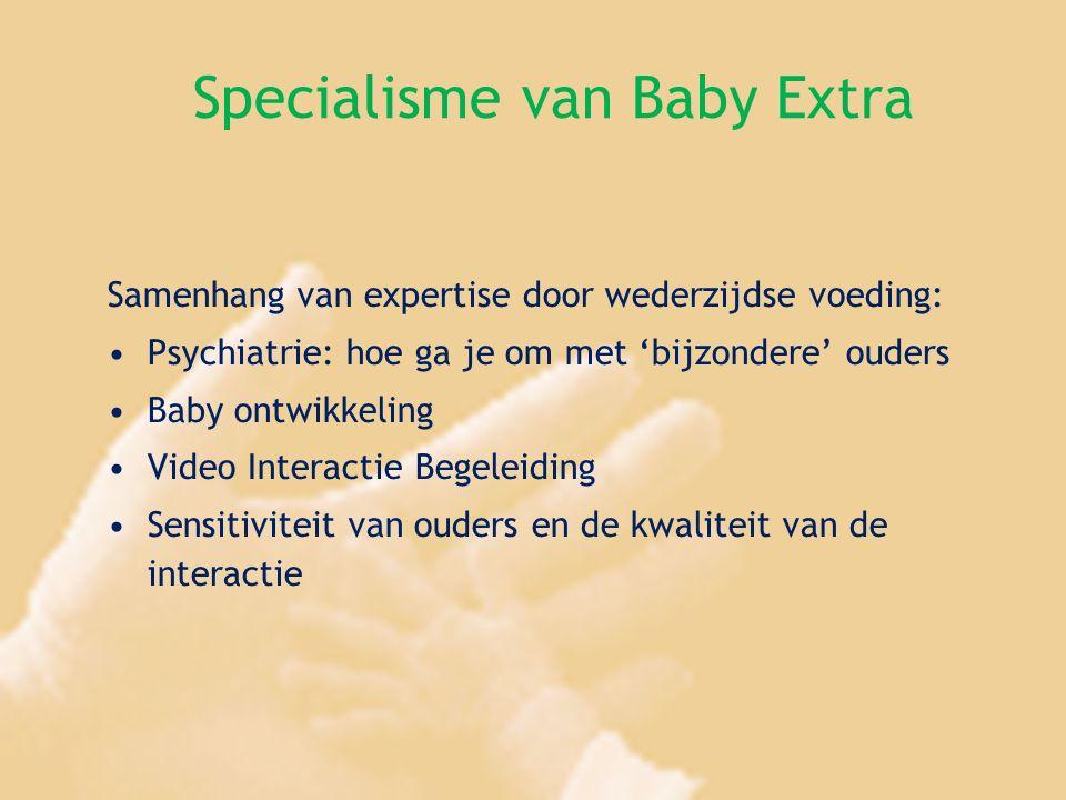 Specialisme van Baby Extra Samenhang van expertise door wederzijdse voeding: Psychiatrie: hoe ga je om met 'bijzondere' ouders Baby ontwikkeling Video