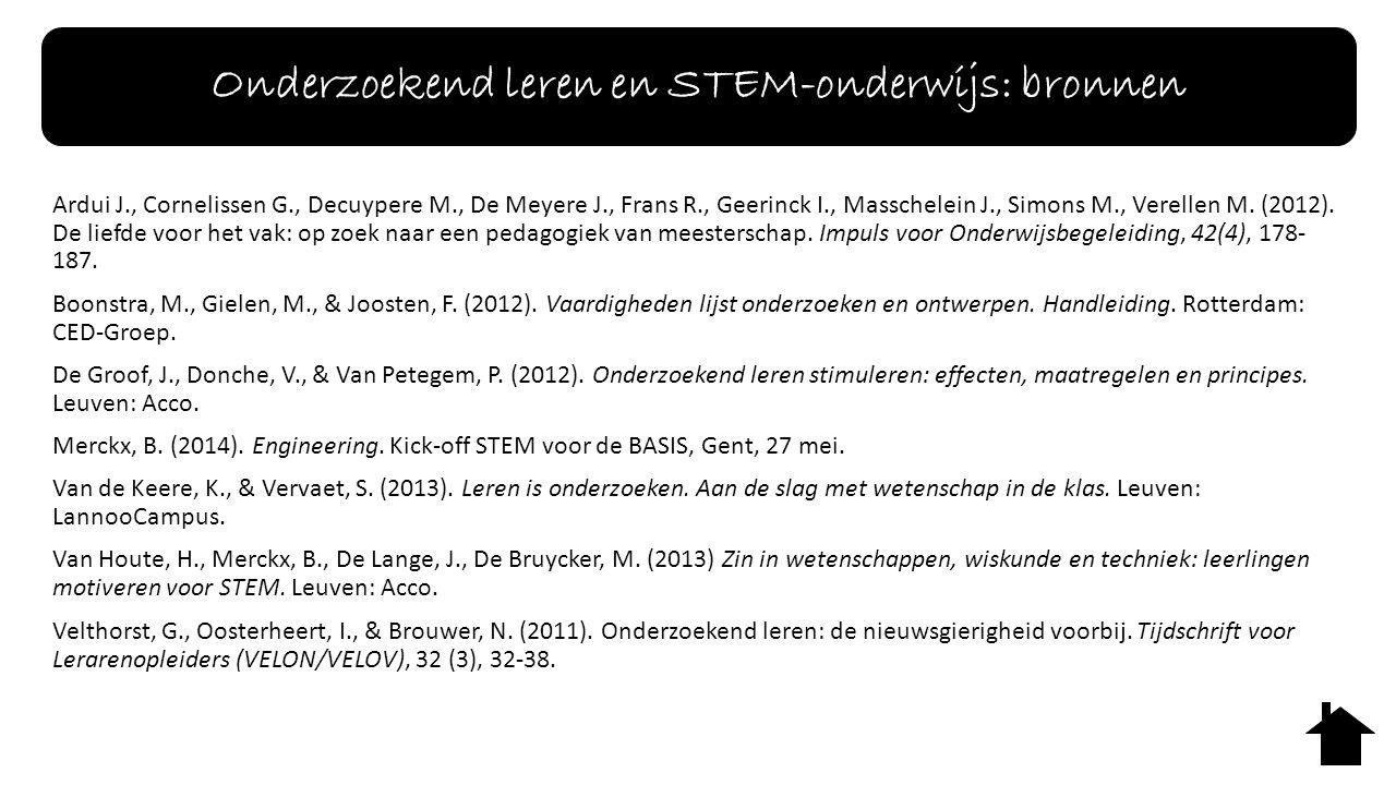 Ardui J., Cornelissen G., Decuypere M., De Meyere J., Frans R., Geerinck I., Masschelein J., Simons M., Verellen M.